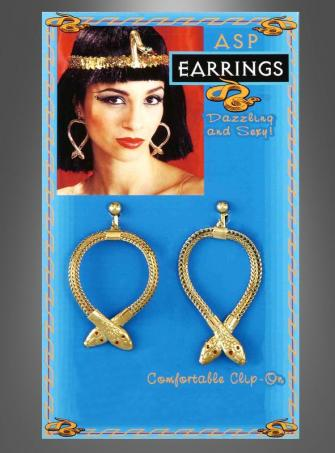 Snake ASP Earrings