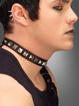 Nieten Halsband Rocker Punk