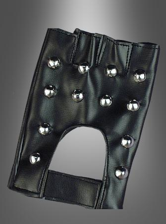 Gloves Studded Punk Rock