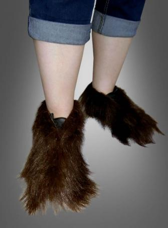 Haarige Fell Schuhüberzieher