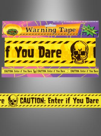 Fright tape 20 ft Halloweendecoration