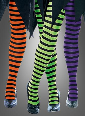 Striped Tights for witches adult