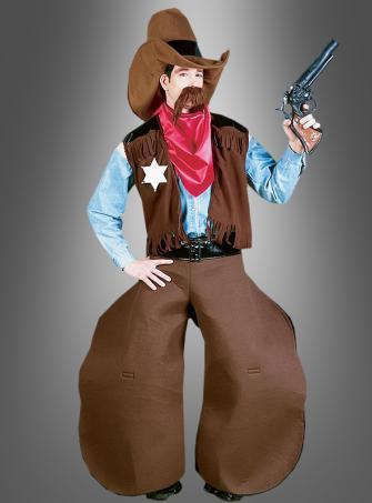 Witziger Cowboy Parodie Kostüm
