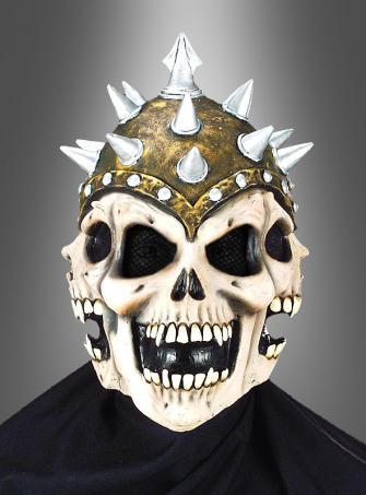 3D Spike Totenkopf Maske