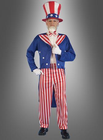 Onkel Sam USA Kostüm XXL