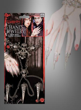 Gothic Hand Jewelry Claws