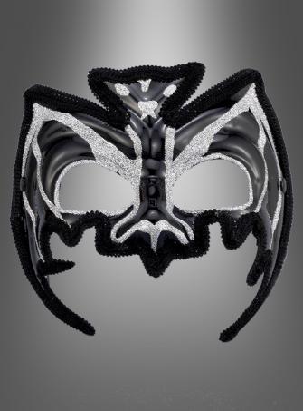 Venezianische Fledermaus Halbmaske