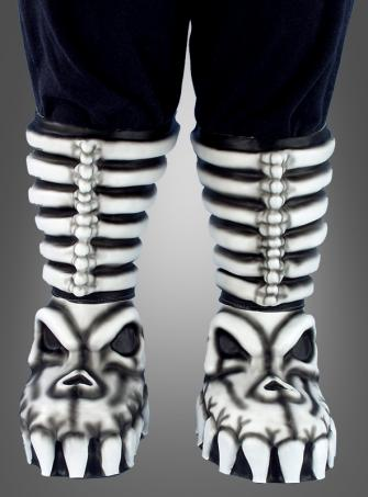 Schuhüberzieher Dämon Schädel