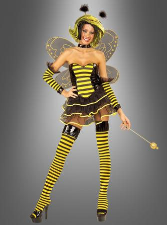 Kostüm Bienenkönigin inkl. Accessoires