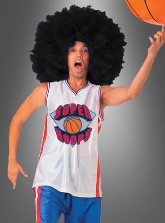 Kostüm witziger Afro-Basketballspieler