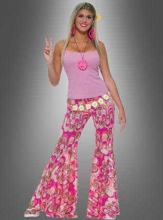 Flower Power Hippie trousers