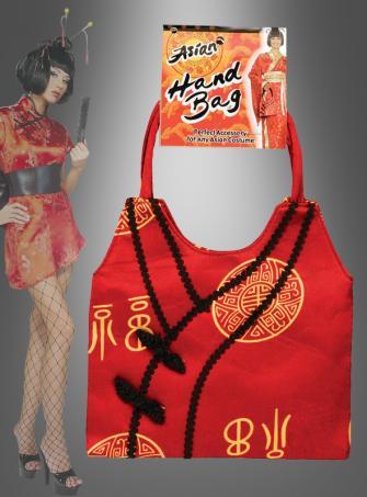 Asia Handtasche zum Kostüm