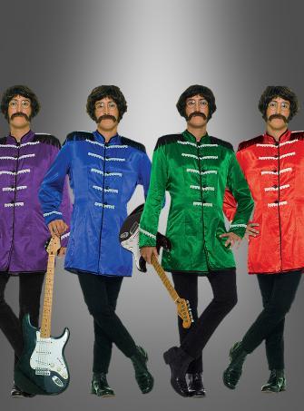 Britischer Musiker 60er Kostüm