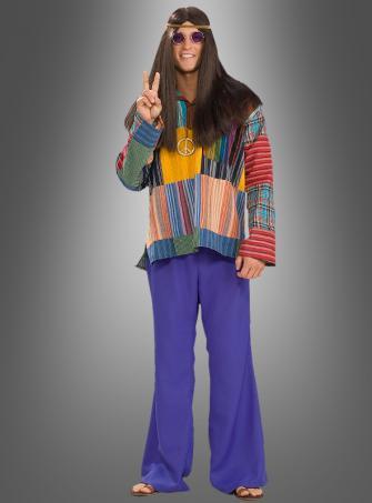 Blaue Schlaghose Hippie