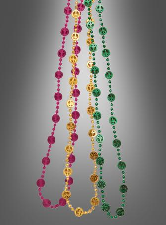 Hippie Peace sign beads