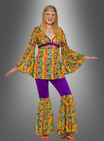 Purple Haze Hippie Costume