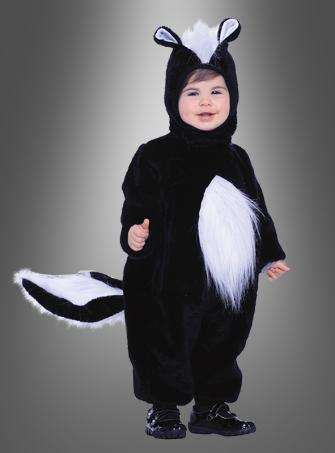 Toddler Skunk Plush costume