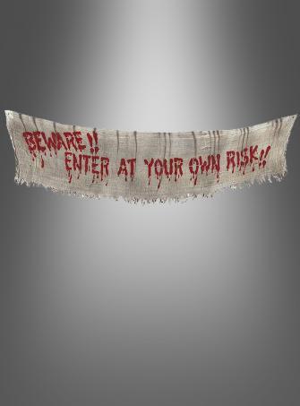 Halloweendeko Banner RIESIG