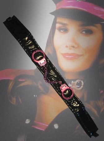 Handschellen Halsband Polizei Kostüm