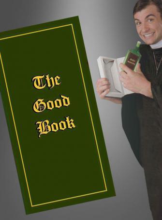 Flachmann im Buch