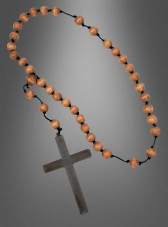 Monk Cross Necklace