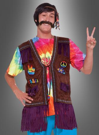 Hippie Peace Fransenweste