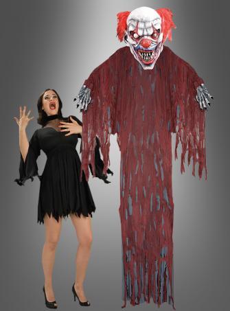 Clown Hängedeko für Halloween RIESIG über 3 Meter