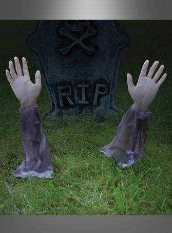 Zombie Arme Halloween Dekoration