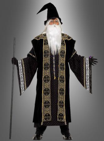 Deluxe zauberhafter Magier Kostüm