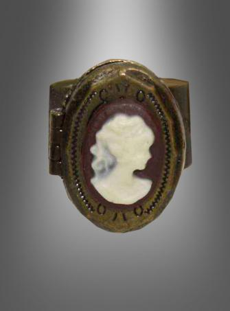 Steampunk Cameo Ring