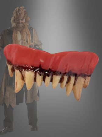 Werwolf Gebiss Zähne