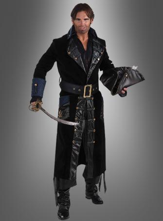 Blackbeard Deluxe Piratenkostüm