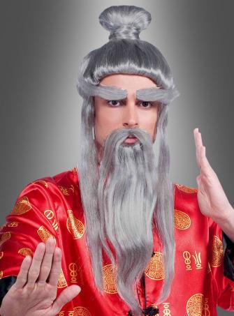Kyoshi Meister Perücke und Bartset