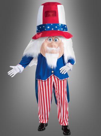 Onkel Sam USA Paradekostüm