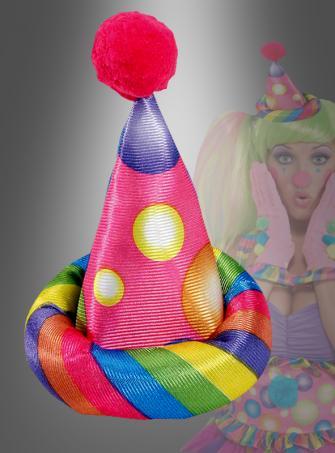 Zirkus Sweetie Clown Hütchen