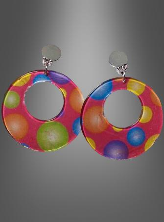 Circus Sweetie Polka Dot Earrings