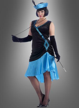 XL Betty Charleston costume blue