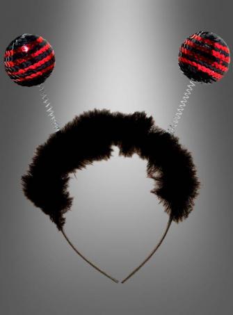 Lady Bug Antenna Headband
