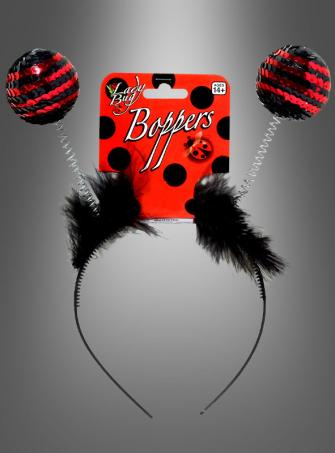 Lady Bug Antenna Headband