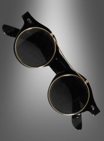 Steampunk Sonnenbrille aufklappbar