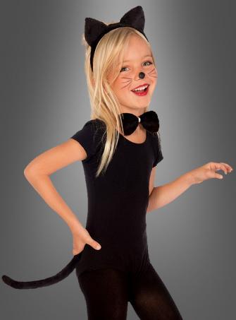 Katzen Kostümset für Kinder