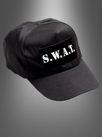SWAT Police Cap Adult