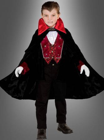 Vampirgraf Kinderkostüm