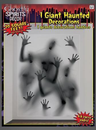 Geisterhände Dekofolie