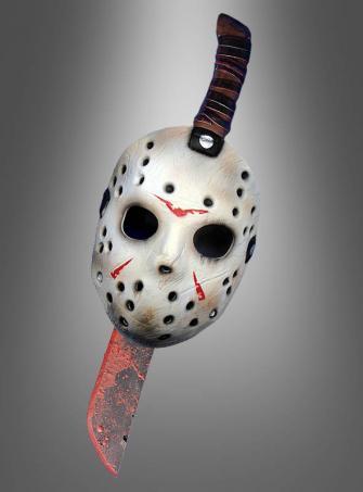Jason Adult Mask and Machete