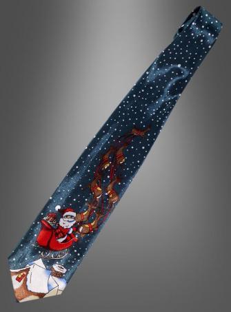Christmas Tie Santas Sled