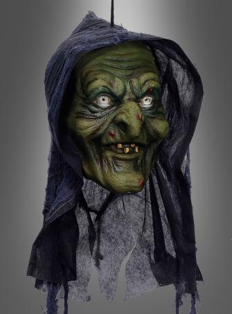 Hexenkopf Halloween Deko