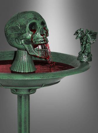 Gruseliger Zimmerbrunnen