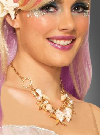 Mermaid Necklace with Sea Shells