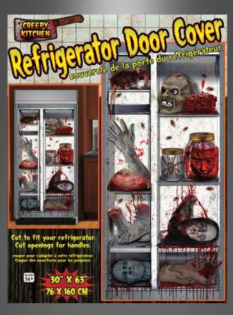 Kühlschrank Halloween Dekoration